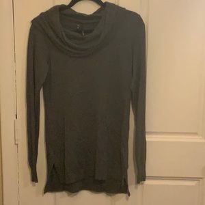 SM Gray Cowl-Neck Sweater from Maurices